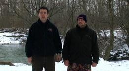 Vízparton - Téli Menyhalazás