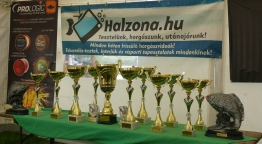 Elkezdődött az I. Halzóna Pontyfogó Kupa